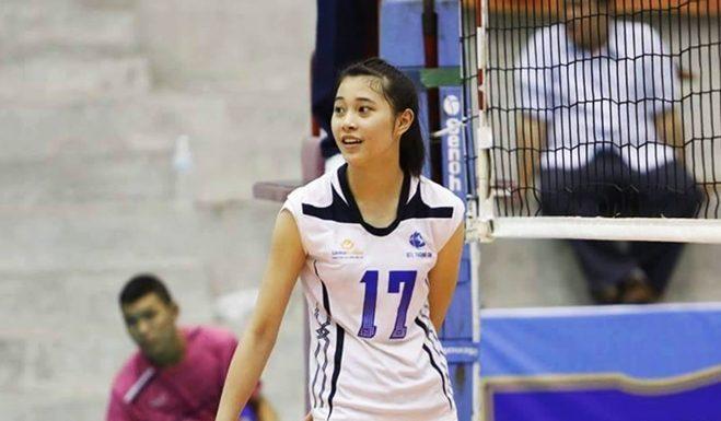 Hot Girl bóng chuyền Đặng Thu Huyền