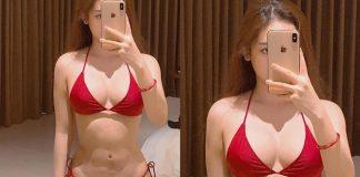 Hot girl Thúy Vy khoe thân hình nóng bỏng trong trang phục bikini quyến rũ!